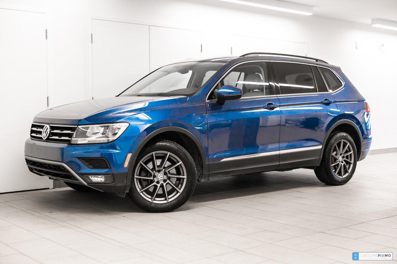 Volkswagen Tiguan 2018 COMFORTLINE * CUIR * TOIT PANORAMIQUE * CERTI