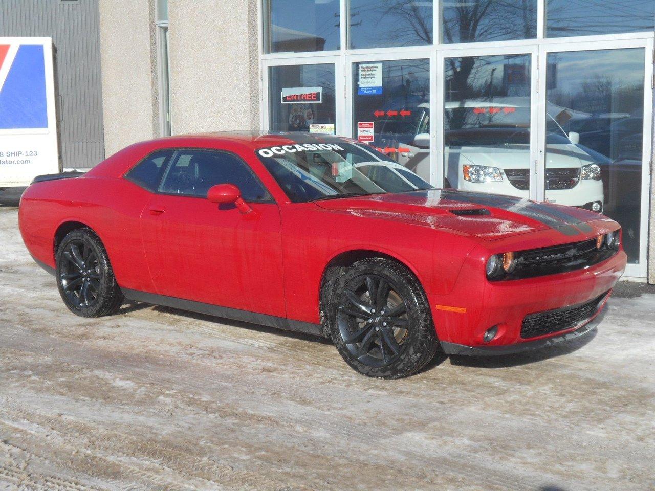 2017 Dodge  Challenger SXT Plus BLACKTOP