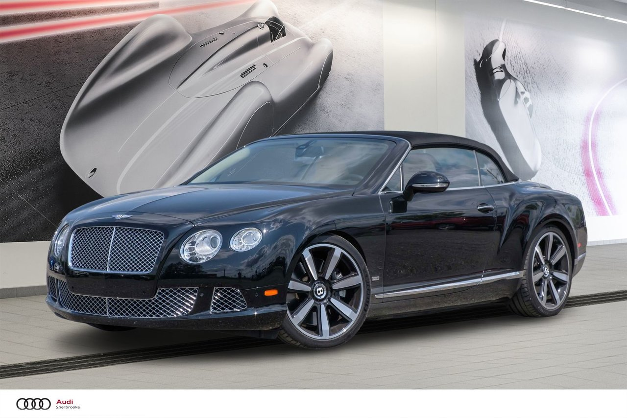 Bentley Continental 2013 GTC Le Mans Edition - W12 Twin Turbo