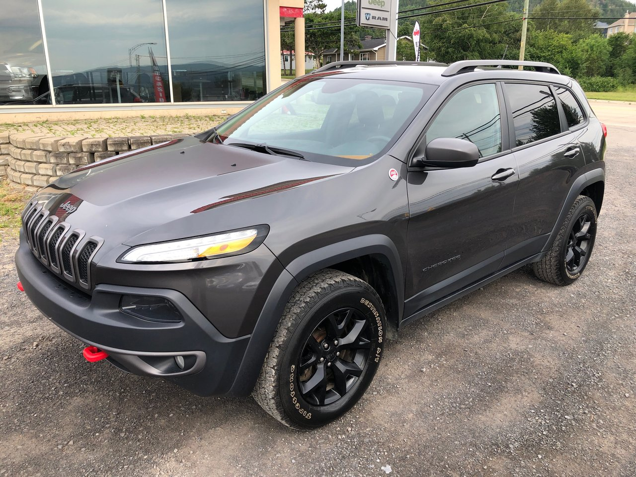 2015 Jeep  Cherokee Trailhawk * FULL CUIR, GPS, GROUPE REMORQUAGE