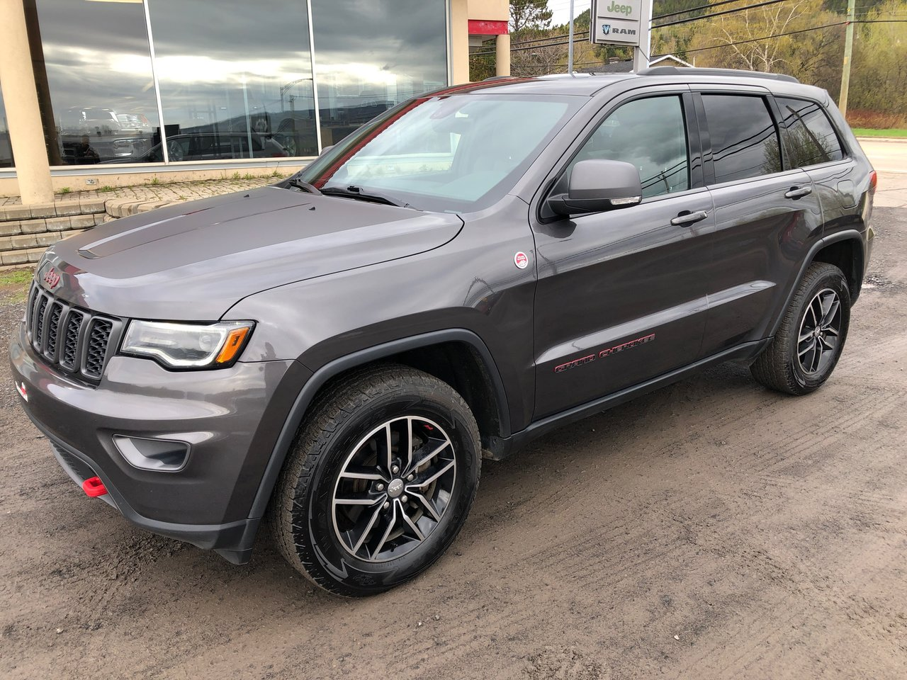 2018 Jeep  Grand Cherokee Trailhawk * GPS, TOIT PANORAMIQUE *