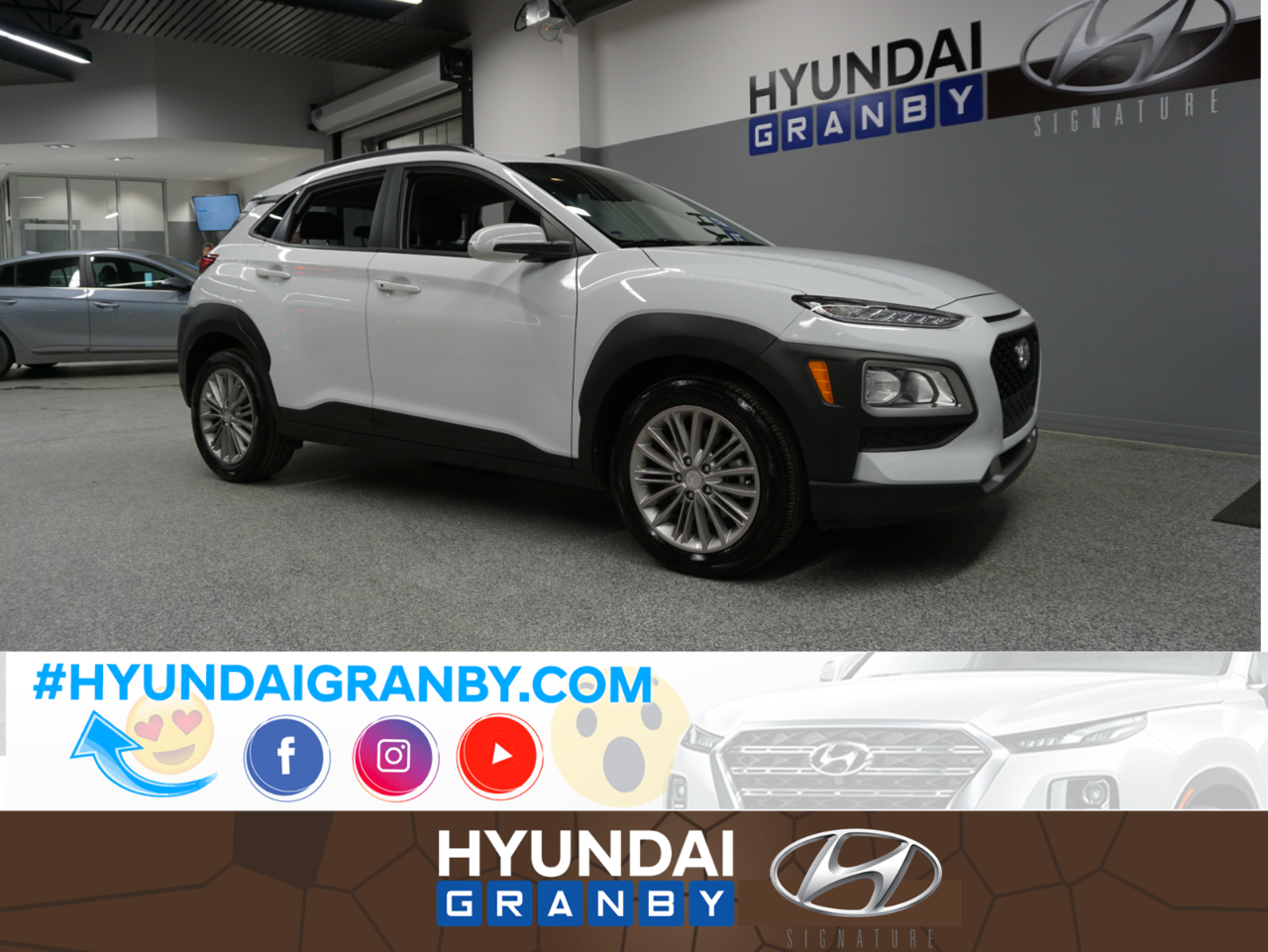 2018 Hyundai  Kona Preferred AWD MAGS FOGS CAM GROUPE ELECT COMP