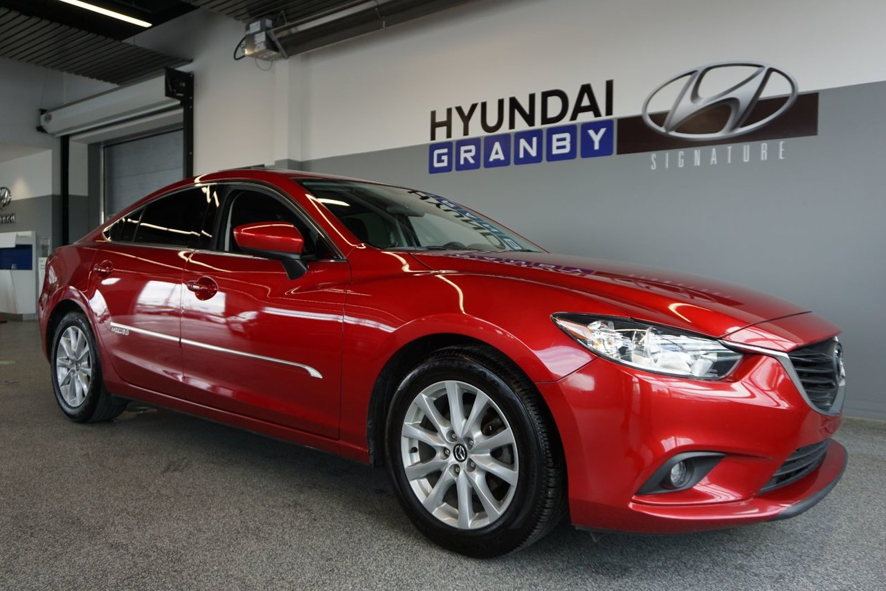 2014 Mazda  Mazda6 GS TOIT MAGS AC GROUPE ELECTRIQUE COMPLET