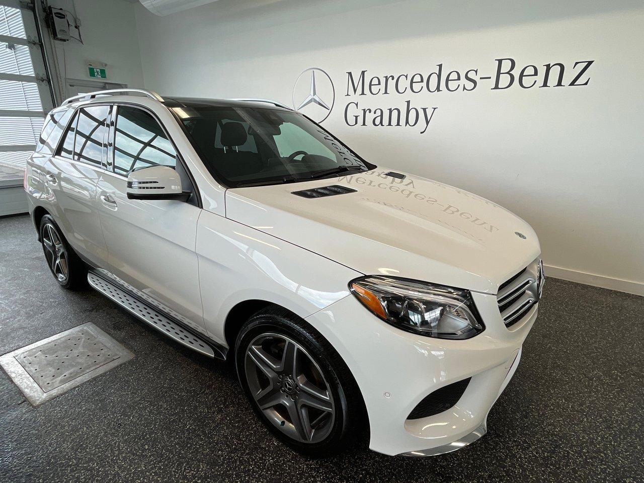 Mercedes-Benz GLE 2018 GLE 400 premium + sport + hitch