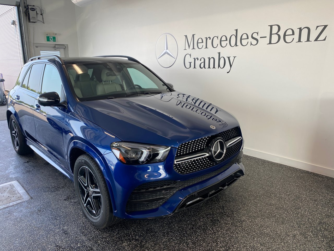 Mercedes-Benz GLE 2021 GLE 450 air suspension + IDP + Night pack