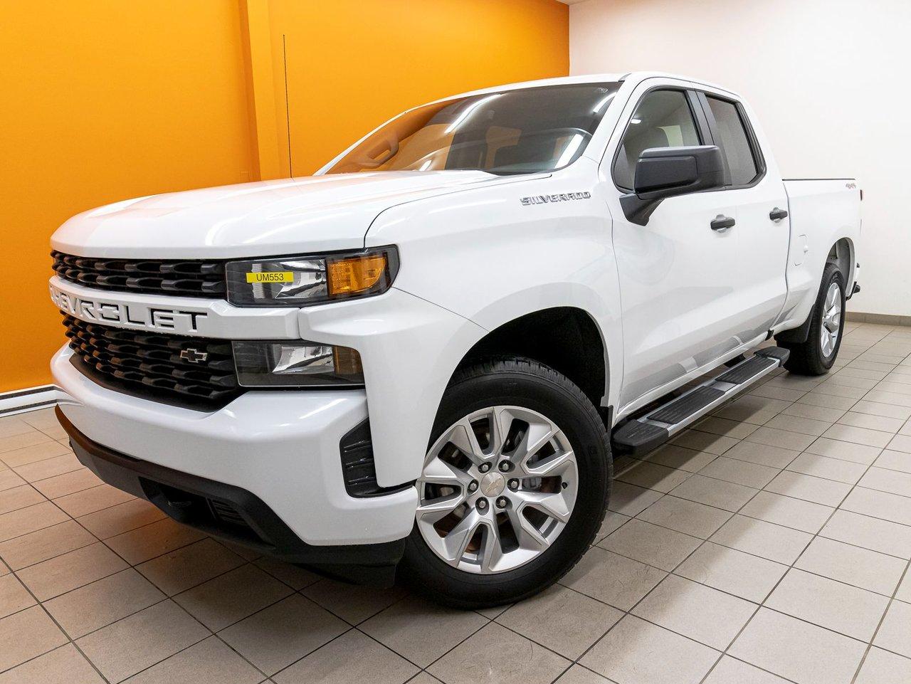 Chevrolet Silverado 1500 2019 CUSTOM V8 4X4 *GR REMORQ* BEDLINER *CARPLAY*