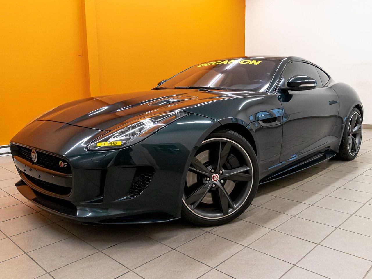 2017 Jaguar F-TYPE S AWD *TOIT PANO* NAV *CAMERA *SIEGES CHAUF*