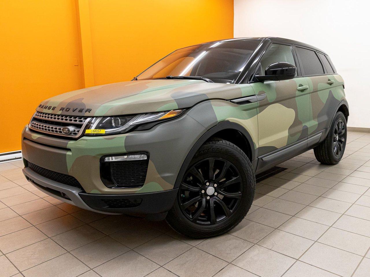 Land Rover Range Rover Evoque 2018 AWD CUIR NAV HAYON ÉLECT SIÈGES CHAUFF *TOIT