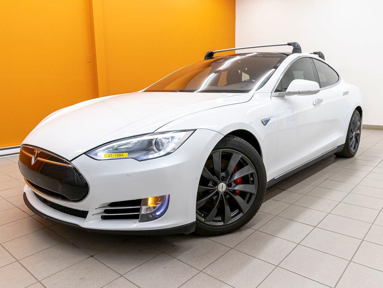 2014 Tesla  Model S P85D AWD SIÈGES CHAUFF CUIR NAV TOIT *AUTOPIL