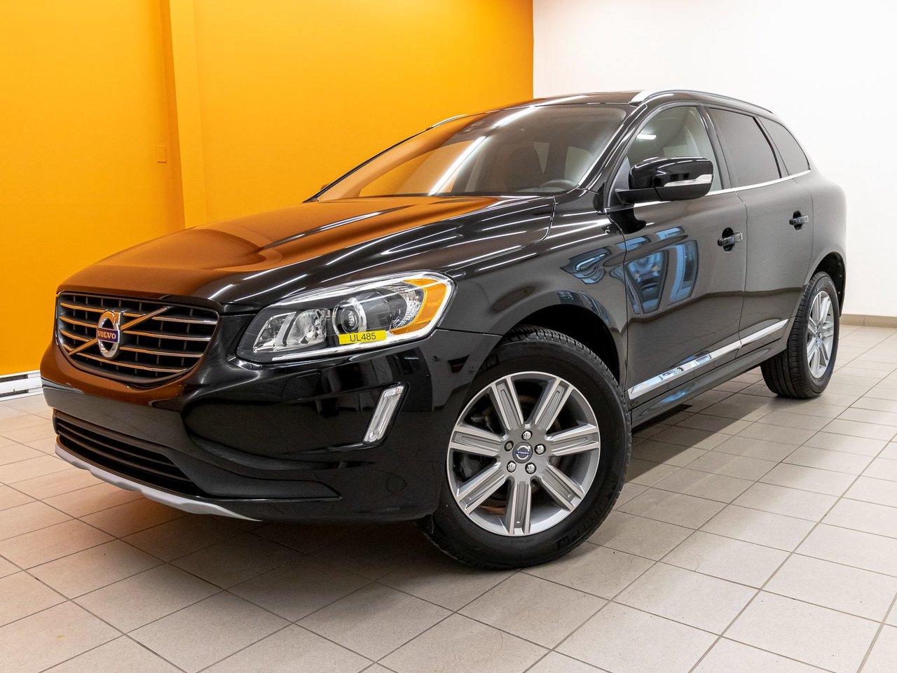Volvo XC60 2017 T6 AWD TOIT PANO NAV CUIR SIÈGES CHAUFF *BAS