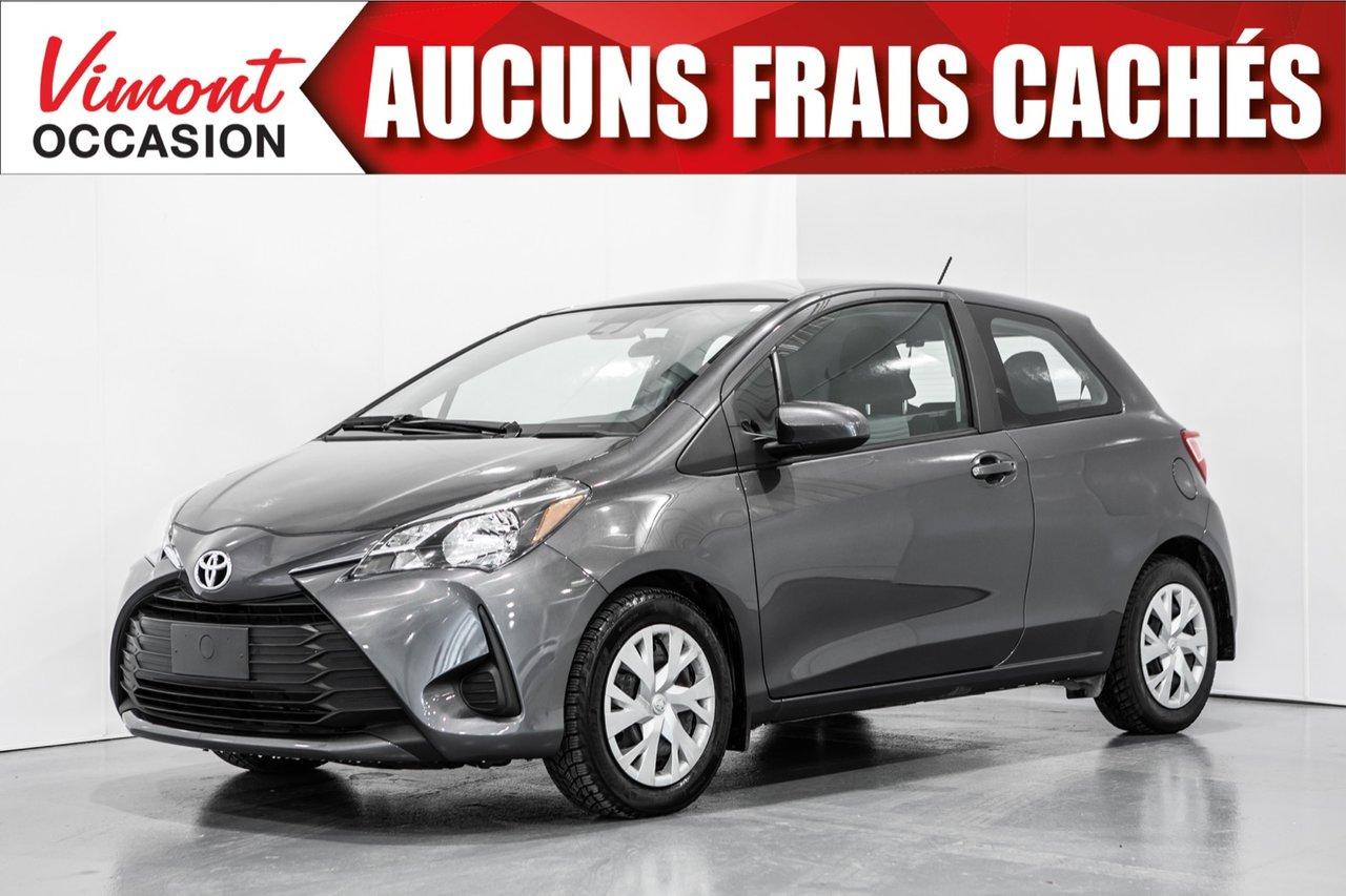 Toyota Yaris 2018 2018+HB+3 PORTES+CAMERA RECUL+SIEGES CHAUFFAN