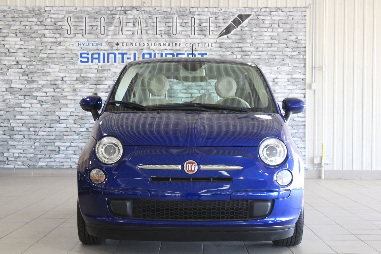 Fiat 500 2013 POP/GROUPE ELECTRIQUE/LECTEUR CD/ AIR CLIM++