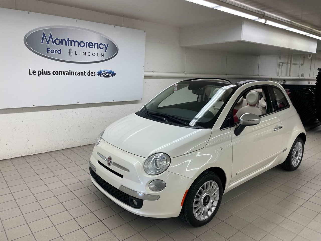 2015 Fiat 500 Lounge Cuir - Mags - Bluetooth - A/C