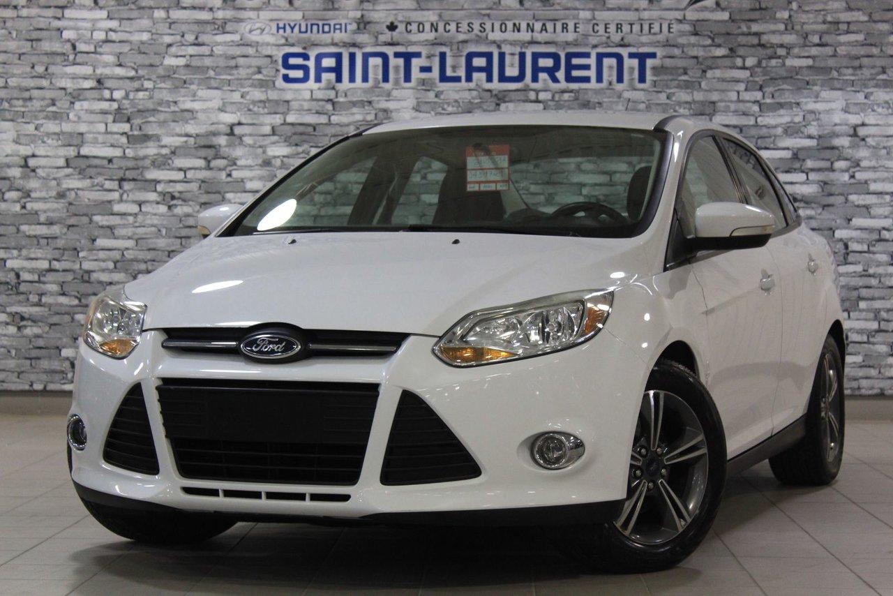Ford Focus 2014 SE/SIÉGES CHAUFFANT/CRUISE/BLUETOOTH/AIR CLIM