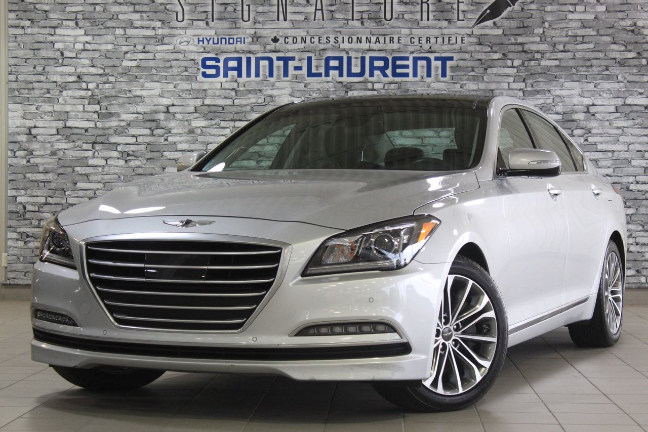 Genesis G80 2017 LUXURY/TOIT PANO/CUIR/CAM/NAVIGATION/ANDROID
