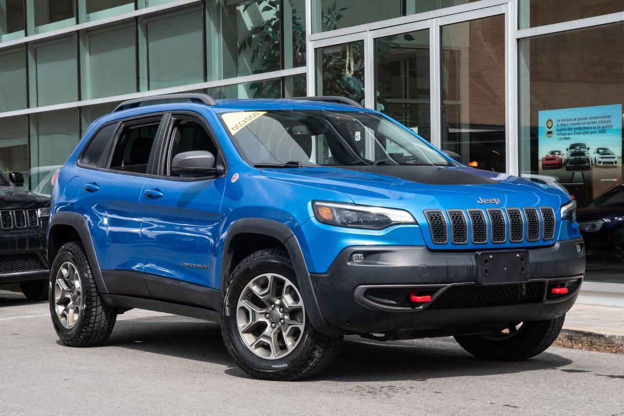 Jeep Cherokee 2020 TRAILHAWK 4X4 JAMAIS ACCIDENTÉ MAGS CAMERA HI