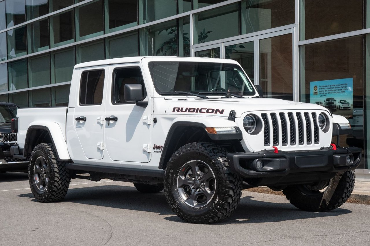 2021 Jeep Gladiator RUBICON 4X4 JAMAIS ACCIDENTÉ APPLE CARPLAY MA