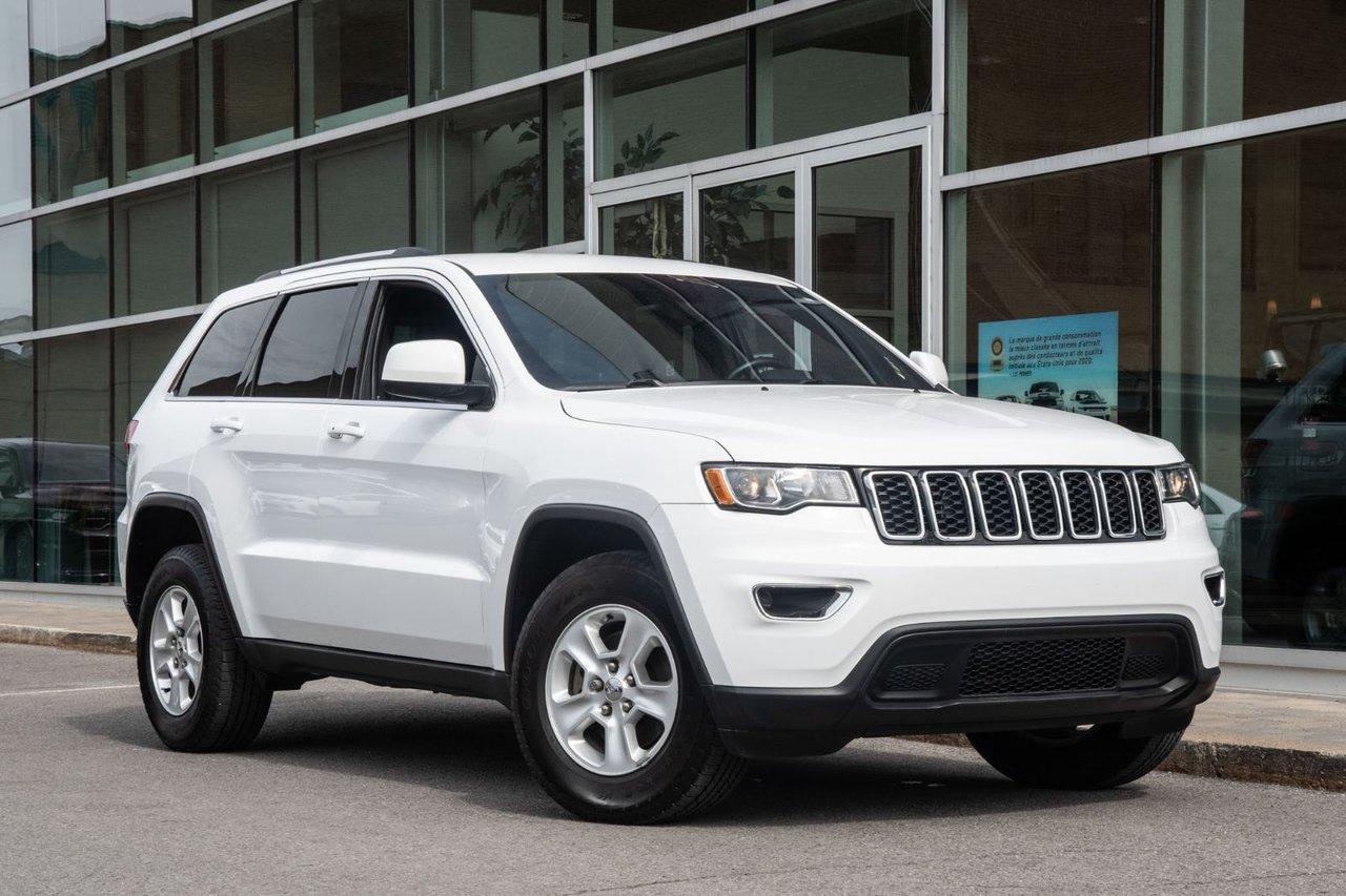 Jeep Grand Cherokee 2017 LAREDO 4X4 JAMAIS ACCIDENTÉ MAGS BLUETOOTH CA