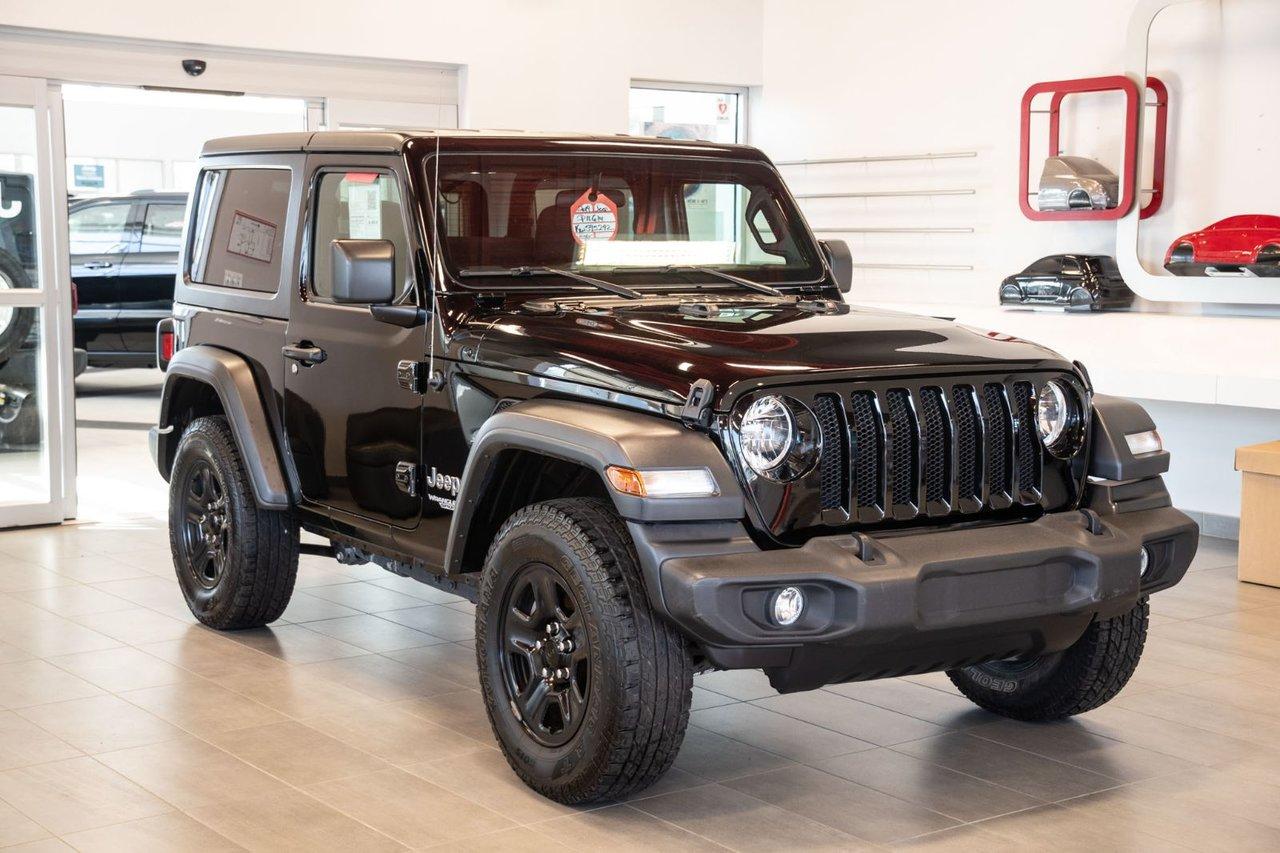 Jeep Wrangler 2019 SPORT V6 4X4 JAMAIS ACCIDENTÉ AC PUSH START