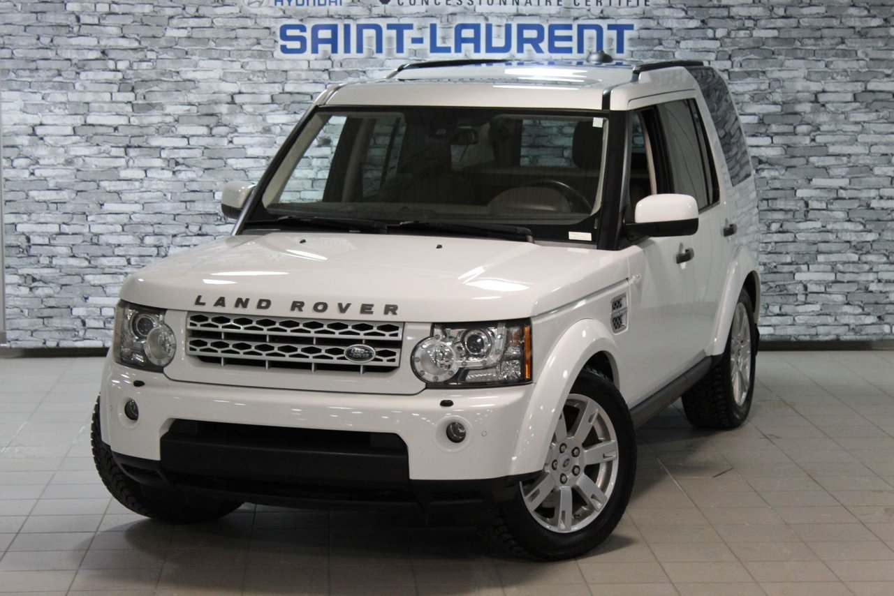 2013 Land Rover  LR4 LUX/V8/CAM/CUIR/SUSPENSION AUTO/HSE