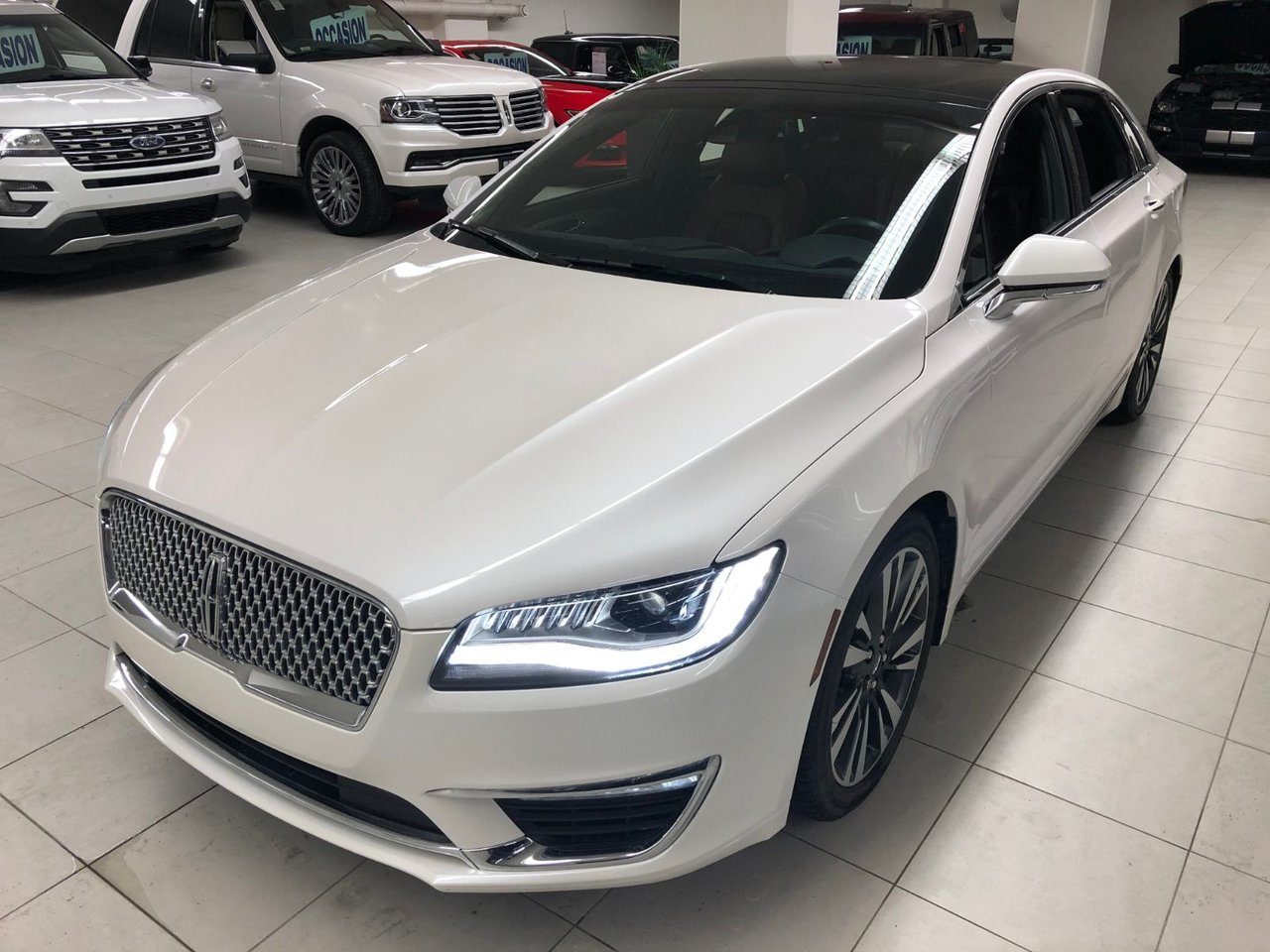 2018 Lincoln  MKZ Reserve V6 3.0 - Toit Panoramique - 19''