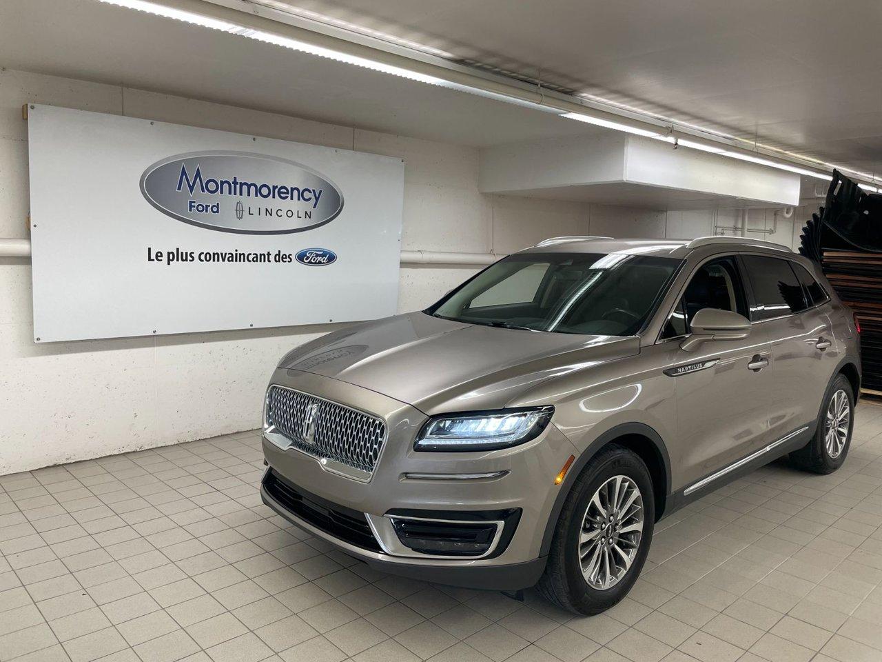 Lincoln Nautilus 2019 Select 2.0L AWD - ENTRETIENS INCLUS JUSQU'EN