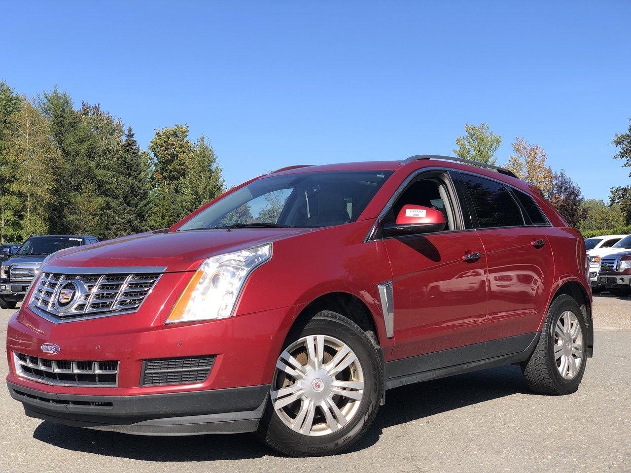 2013 Cadillac  SRX AWD, LUXURY, TOIT, NAV !!!