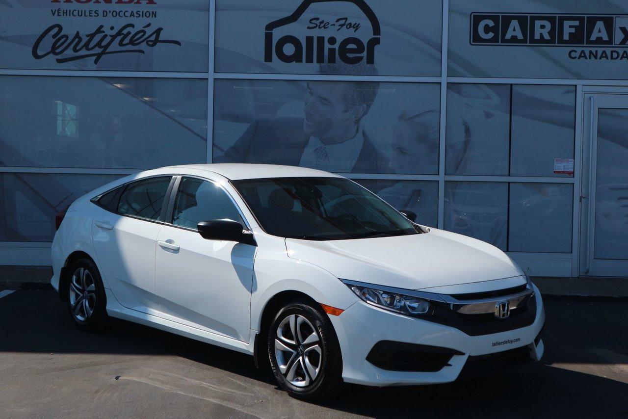 Honda Civic 2017 DX*GARANTIE 10ANS/200KM*
