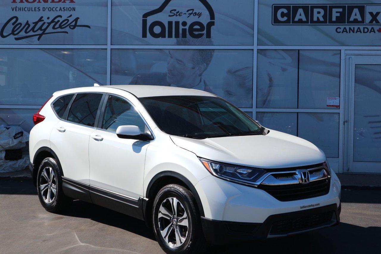 Honda CR-V 2018 LX*GARANTIE PROLONGÉE COMPLÈTE*