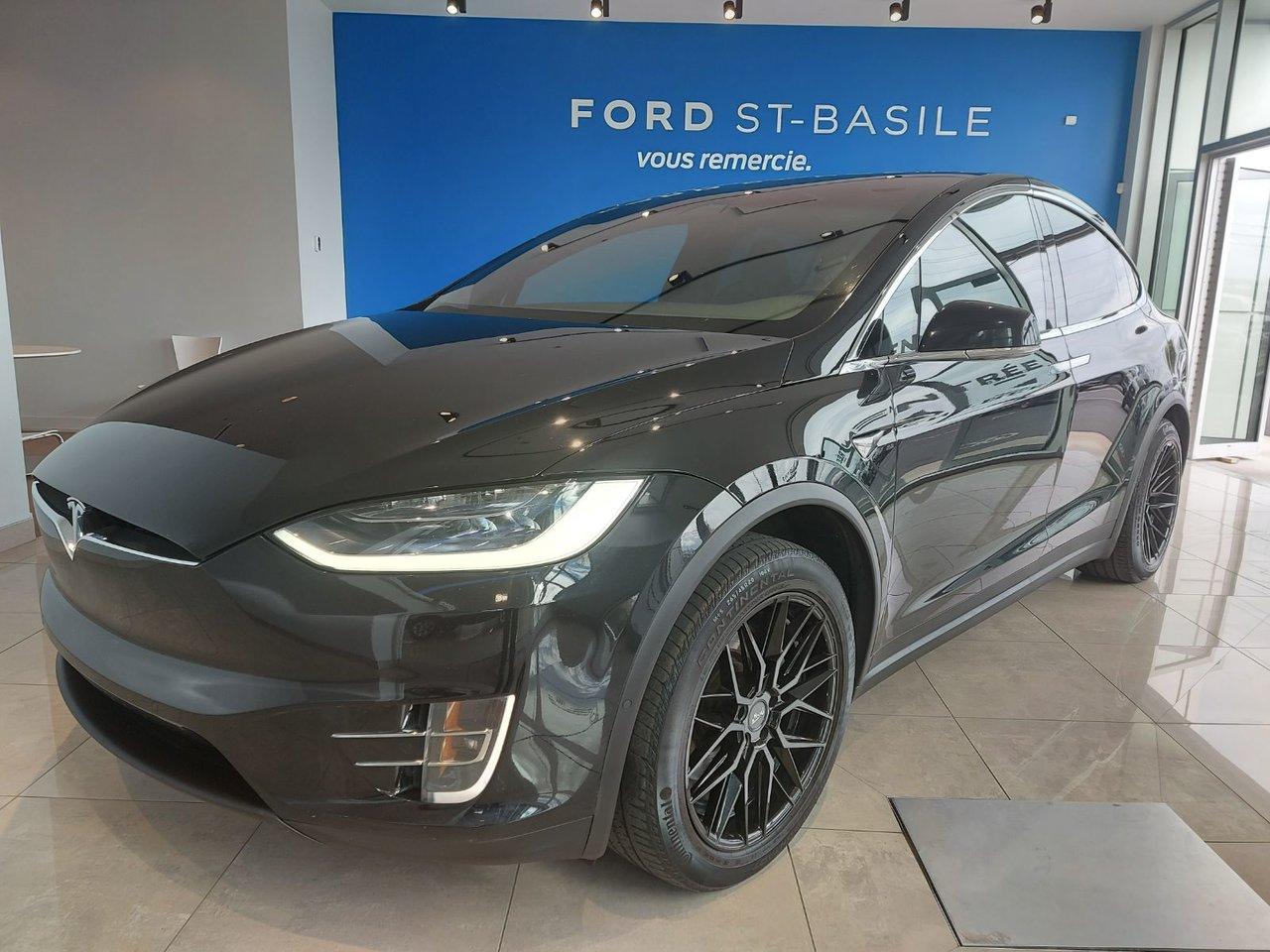 2018 Tesla Model X 75D  LONG RANG  AUTO PILOT  OPTION MAGS +CARB