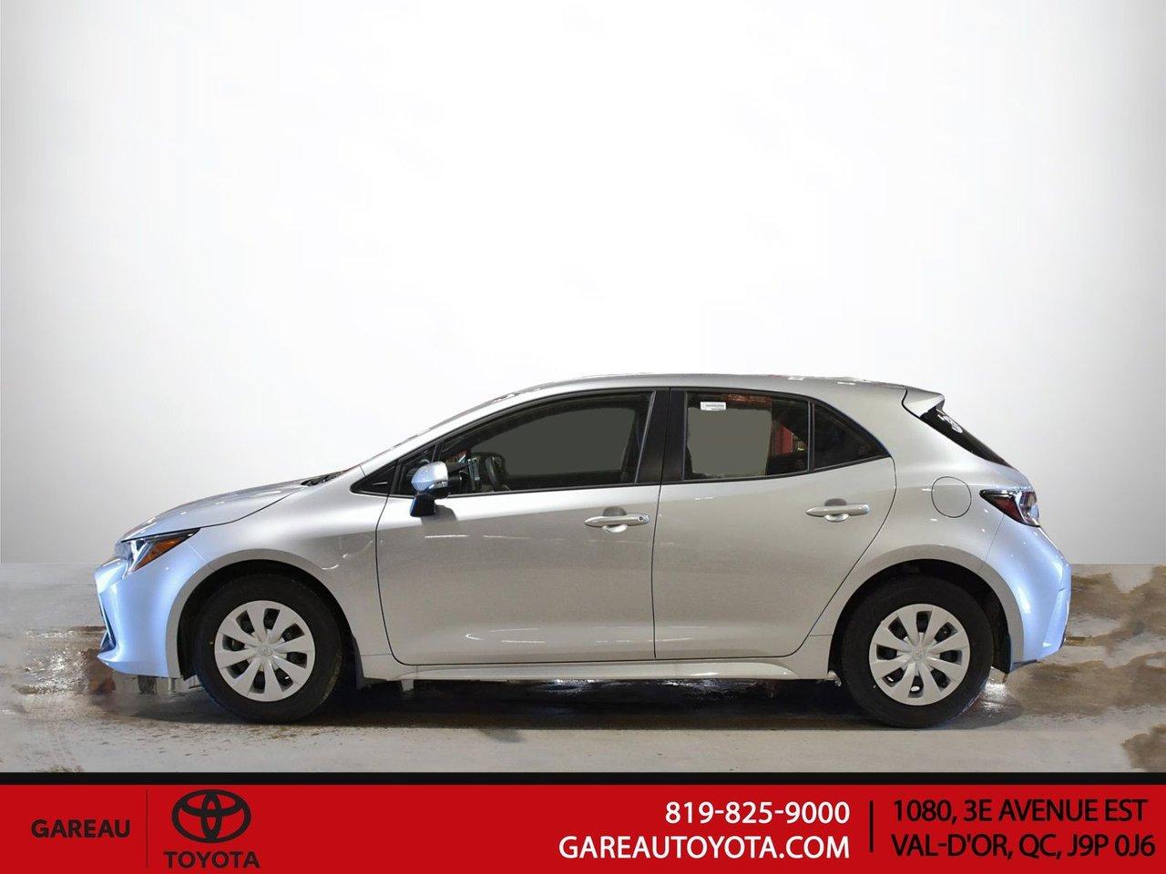 Toyota Corolla à hayon 2021 *VÉHICULE NEUF*