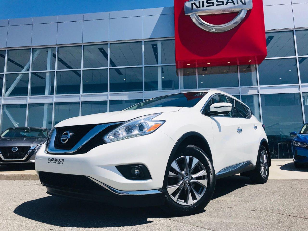 2016 Nissan  Murano SL AWD *** TAUX À PARTIR DE 2.49% ***