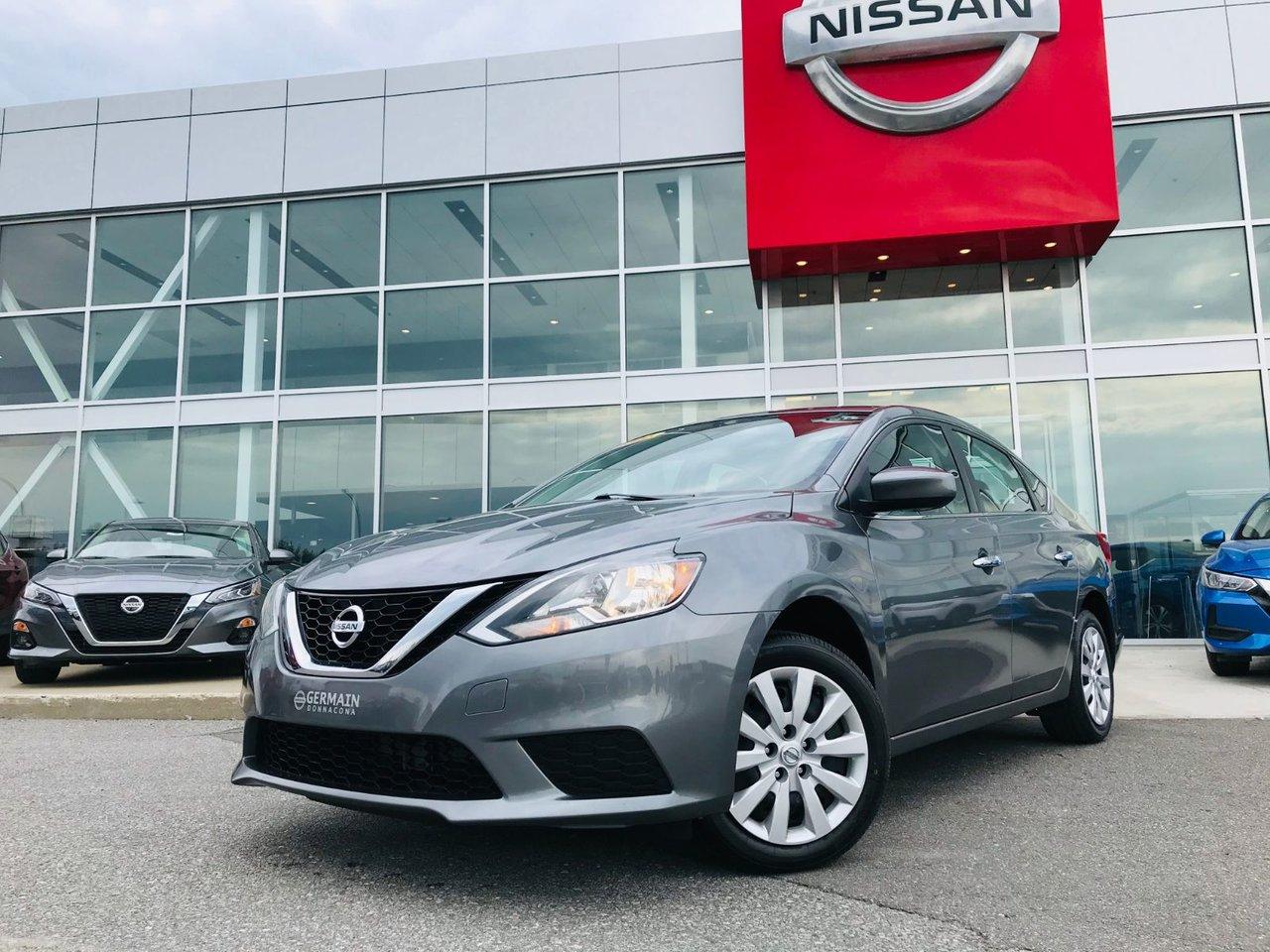 2016 Nissan  Sentra S AUTO  ** TRÈS BAS KILO - UN SEUL PROPRIÉTAI