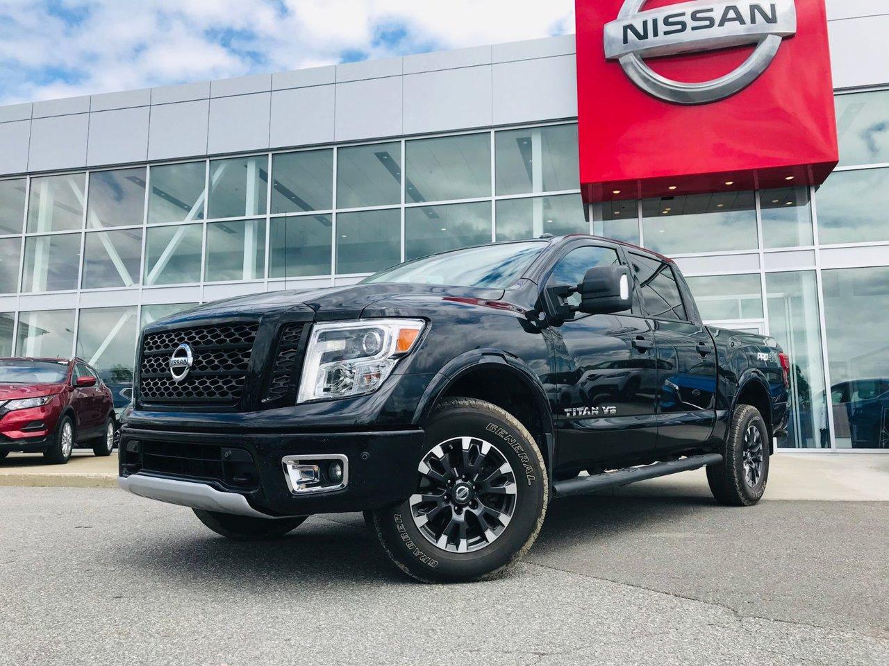 2018 Nissan  Titan CREW CAB PRO-4X *** TAUX À PARTIR DE 3.59% **