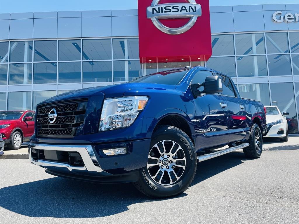 Nissan Titan 2020 SV PREMIUM 4WD CREw CAB *** DÉMONSTRATEUR ***