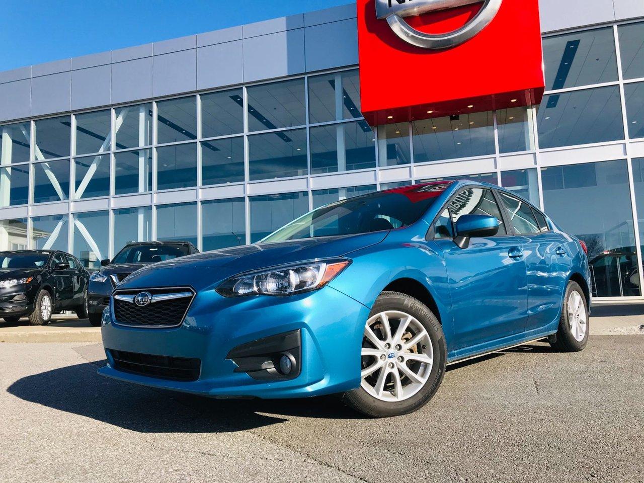 2018 Subaru  Impreza TOURING **GARANTIE 18 JUIN 2025 ou 140 000 KM