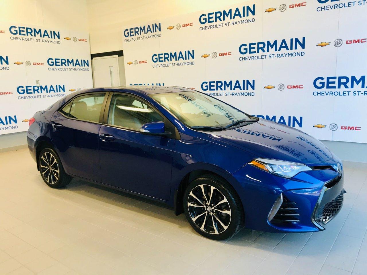 2017 Toyota  Corolla SE - TOIT OUVRANT - VOLANT ET SIÈGES CHAUFFAN
