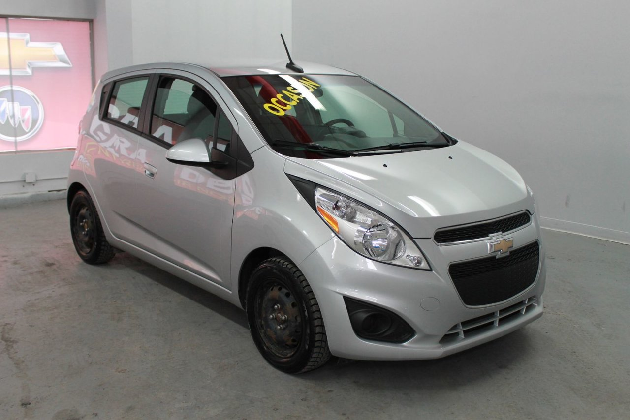 chevrolet spark 2013 d 39 occasion vendre chez gravel decarie chevrolet buick cadillac gmc ltee. Black Bedroom Furniture Sets. Home Design Ideas