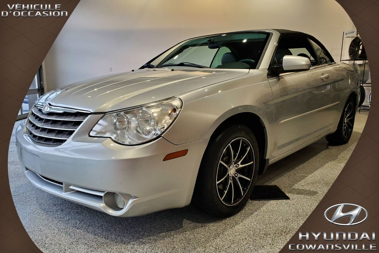 2008 Chrysler  Sebring CONVERTIBLE, CUIR, SIÈGES CHAUFFANTS + ÉLECTR