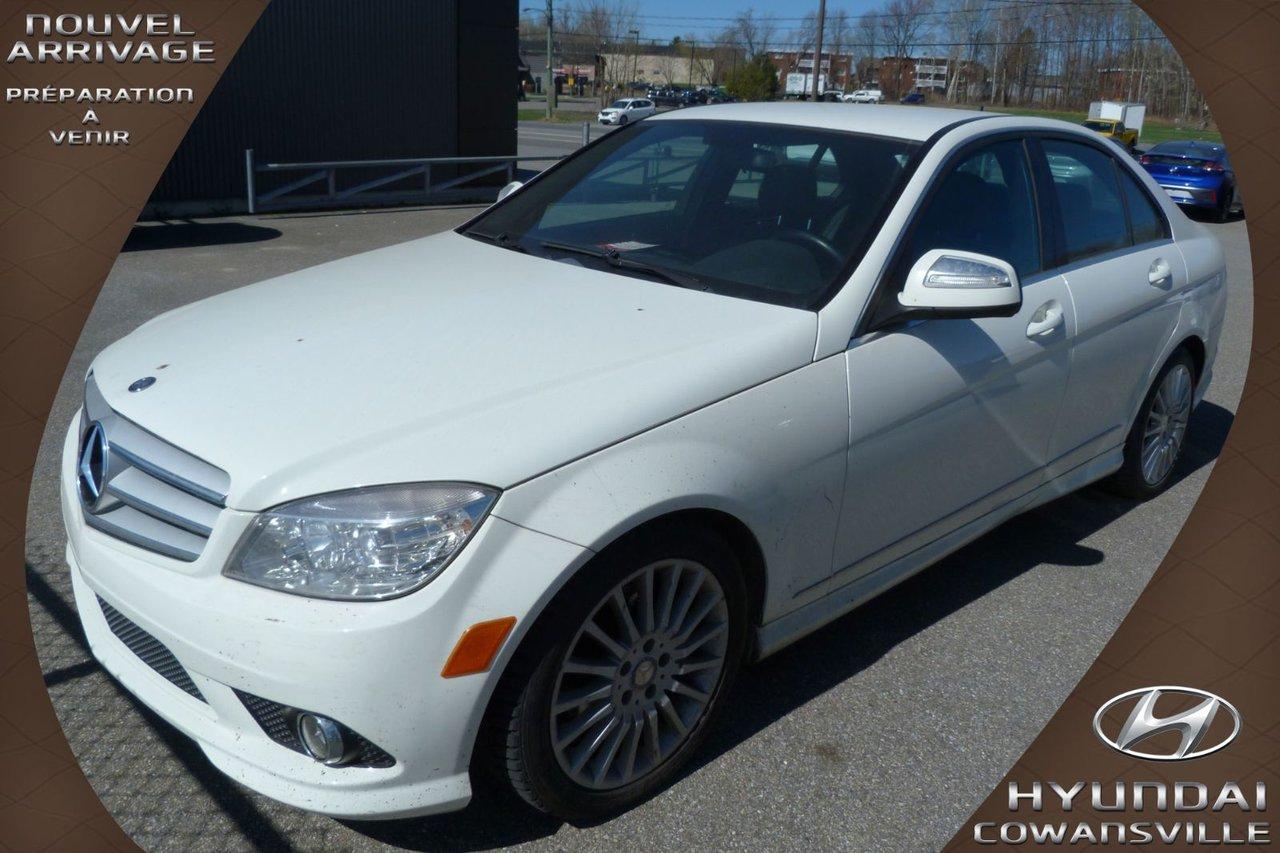 Mercedes-Benz Classe C 2009 2.5L, C230 4MATIC, CUIR, CLIM. BI-ZONE, MAGS