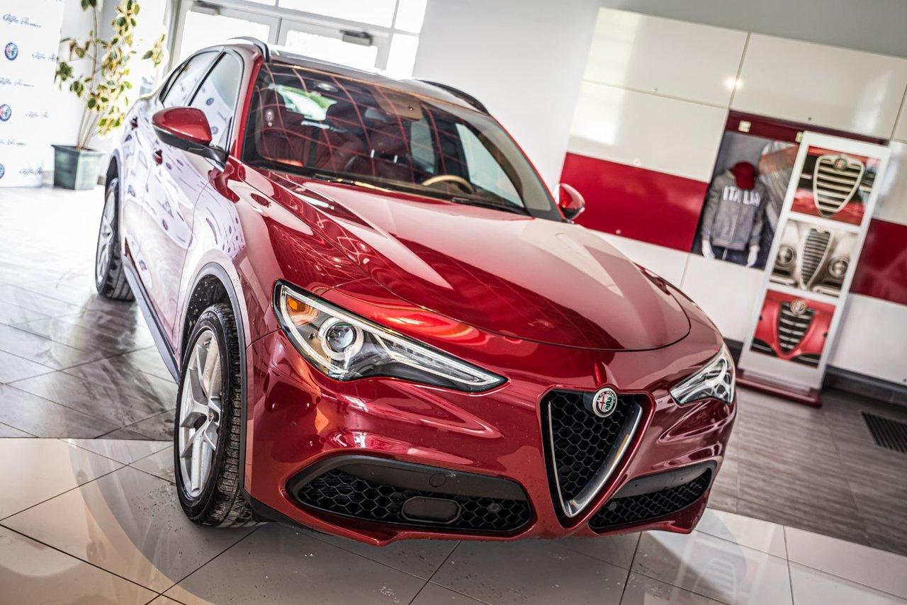 2018 Alfa romeo  Stelvio Ti Sport CERTIFIE A PARTIR DE 0.9%