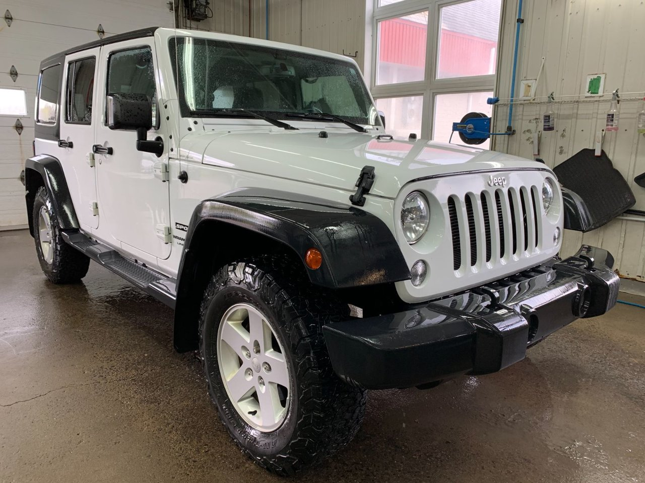 2018 Jeep  Wrangler JK UNLIMITED JK Sport 4WD
