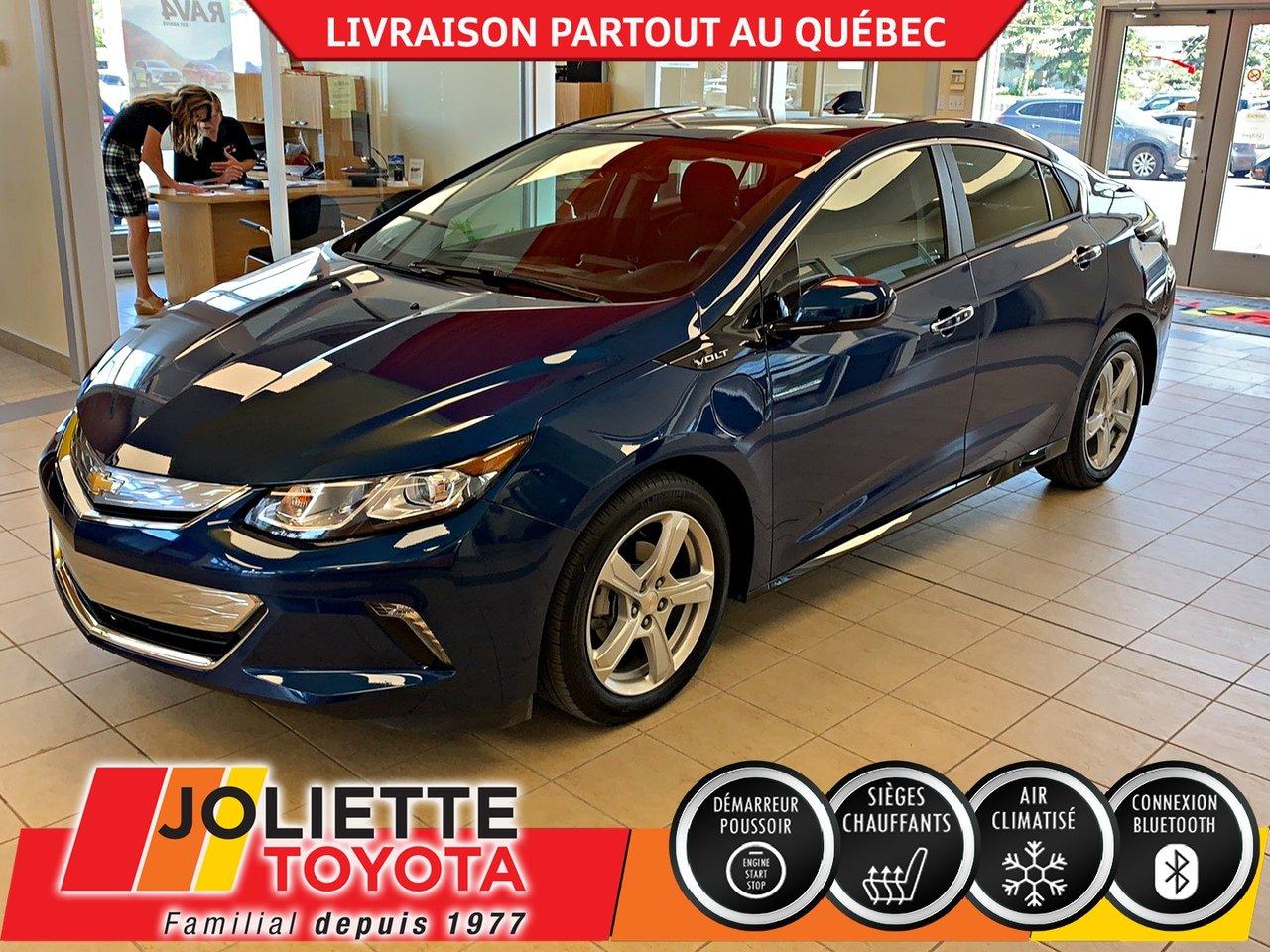 2019 Chevrolet  Volt LT,BLUETOOTH,A/C,CAMÉRA DE RECUL !!!