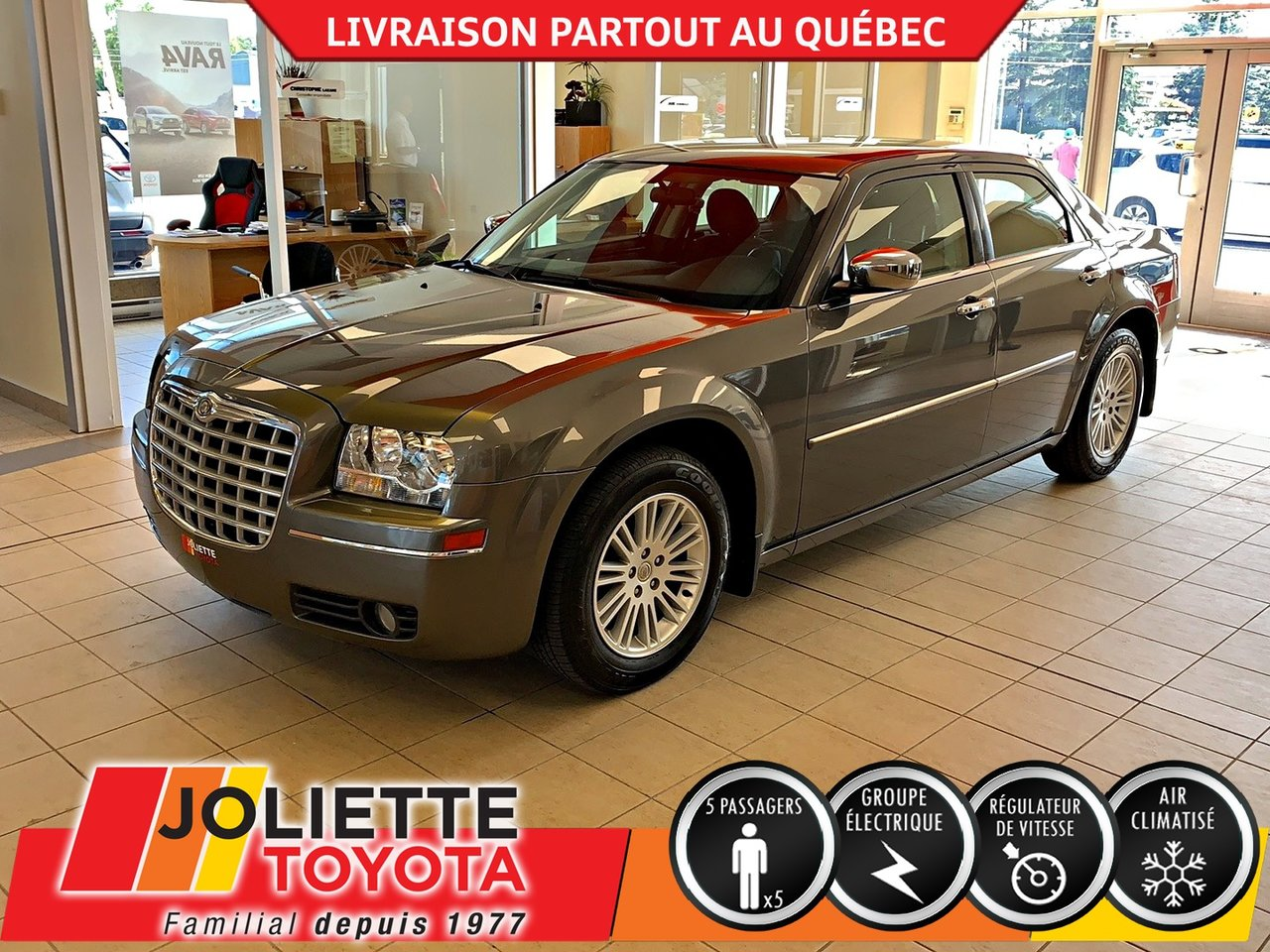 2010 Chrysler  300 TOURING, A/C,JANTES,RÉGULATEUR DE VITESSE !!!