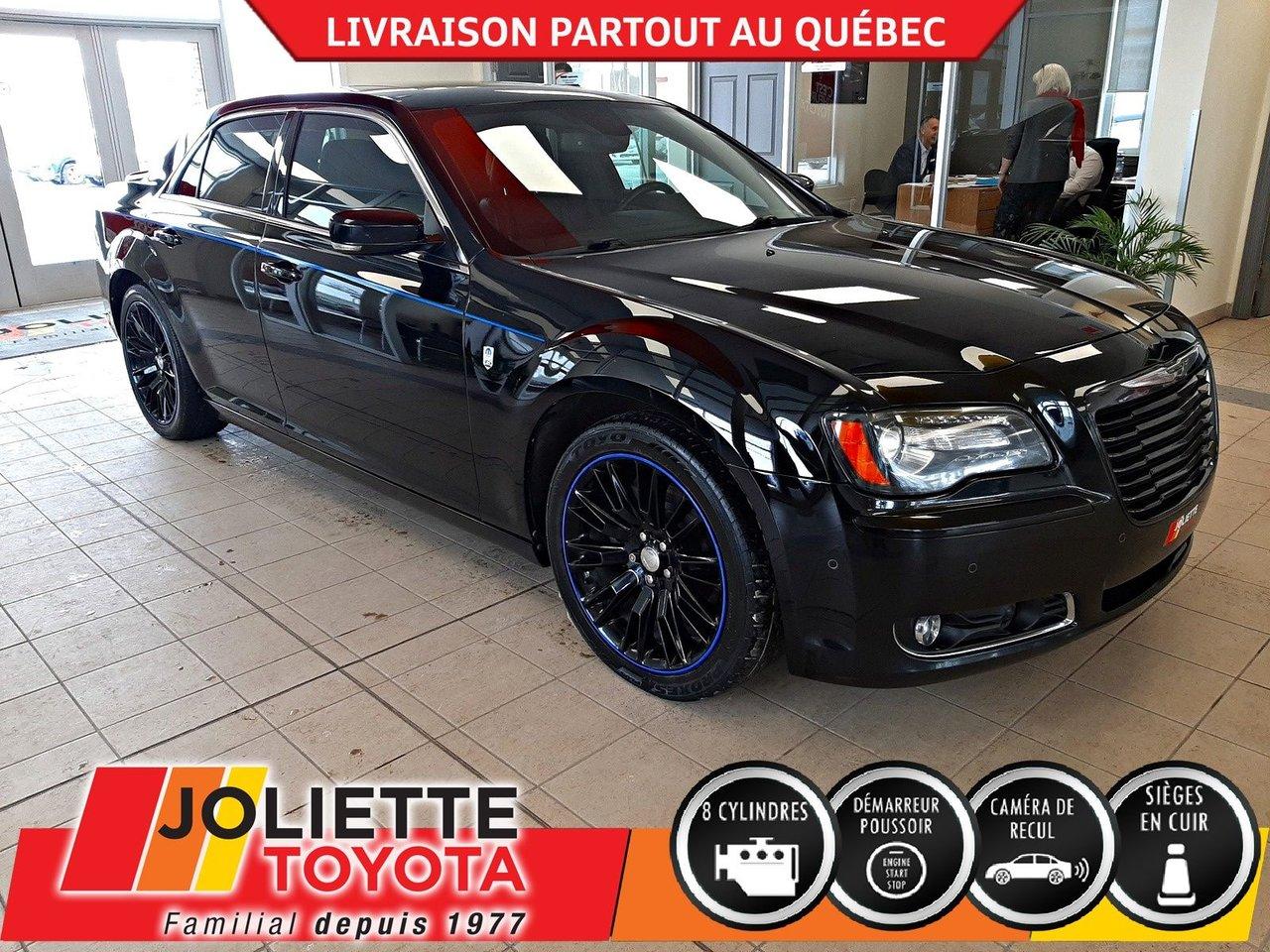 2012 Chrysler  300 300S V8-CUIR-NAV-TOIT-SIÈGES CHAUFFANTS !