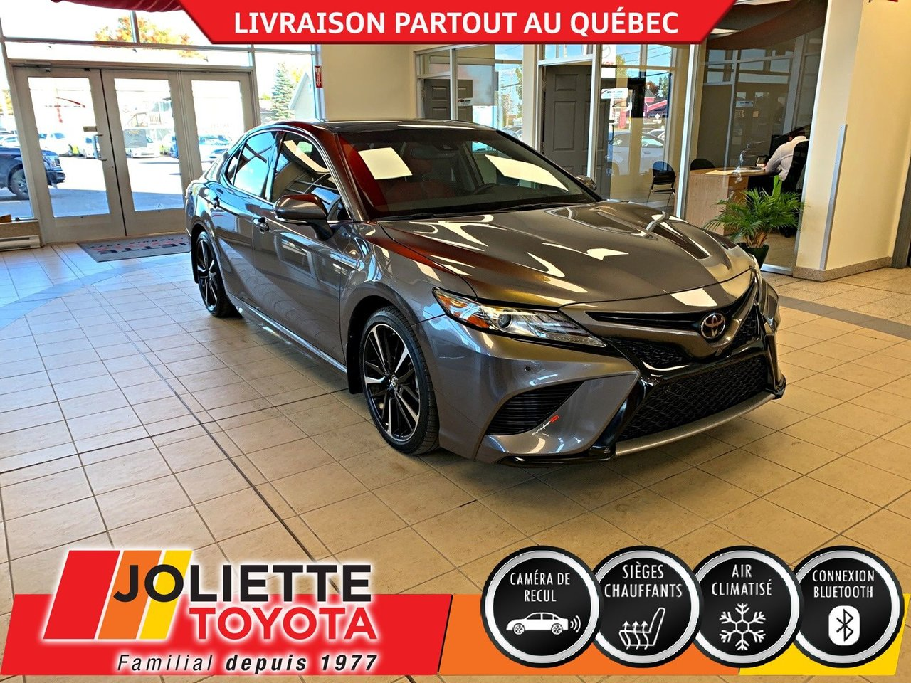 2018 Toyota  Camry XSE,BLUETOOTH,A/C,CAMÉRA DE RECUL !!!!!