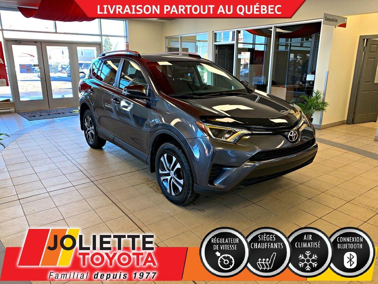 2016 Toyota  RAV4 LE-AWD-SIÈGES CHAUFFANTS-BLUETOOTH-CAMÉRA DE