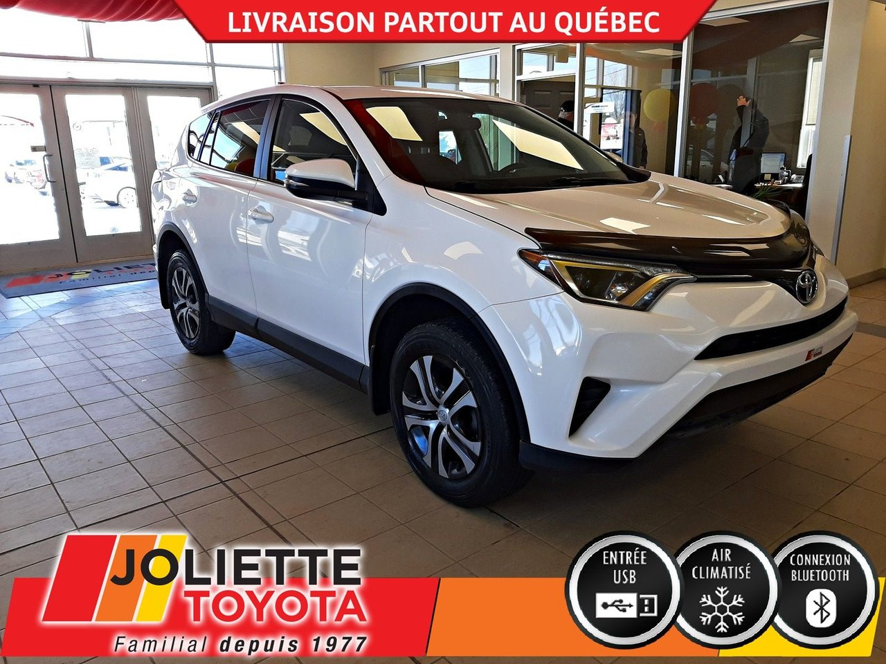 2016 Toyota  RAV4 LE-SIÈGES CHAUFFANTS-BLUETOOTH-A/C-
