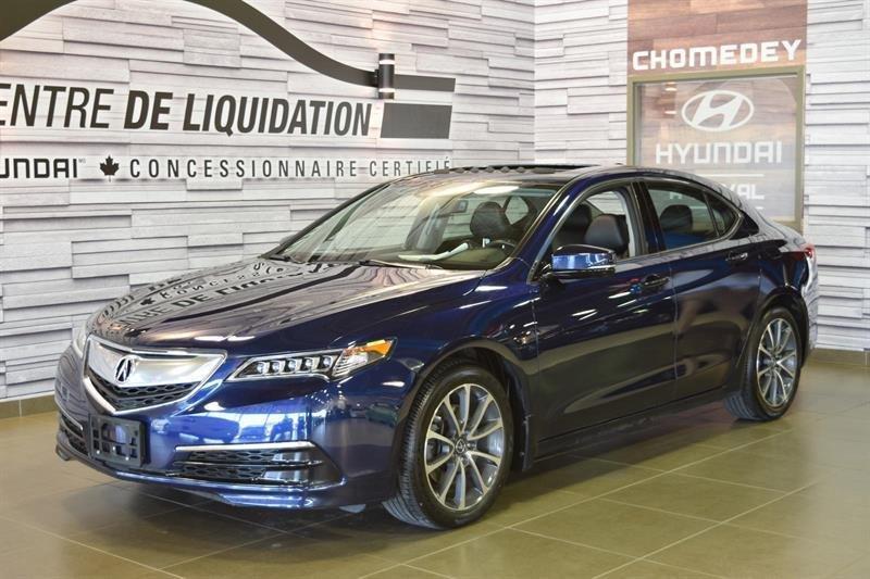 2015 Acura  TLX TECH+AWD+GPS+CUIR+TOIT OUVRANT