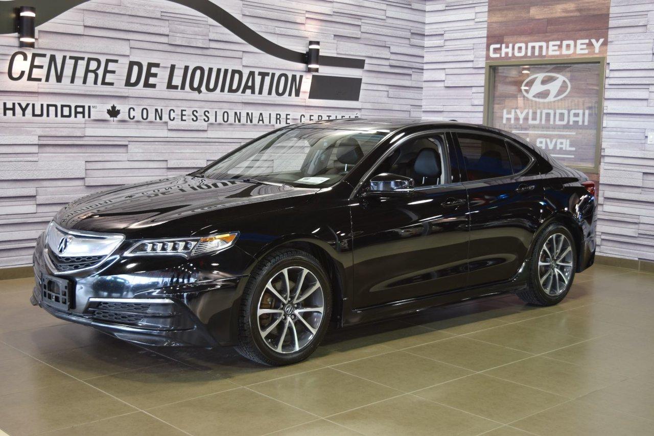 2015 Acura  TLX TECH+AWD+KIT LUNCH AERO PACK+GPS+CUIR+TOIT OU